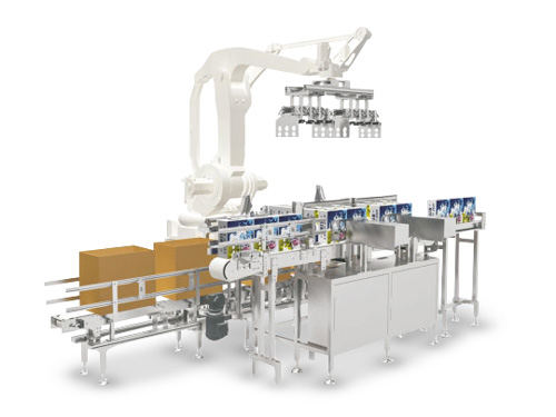 Case Packer - Vertical Joint Robot