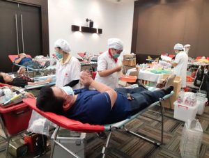Blood Donation Drive Participation by Nixma Technology Thailand.