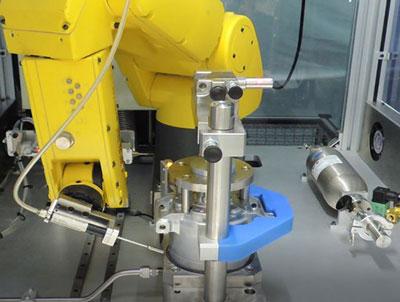 sniffing helium Leak Test
