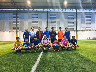 Soccer fun at Rangsit Soccer Club
