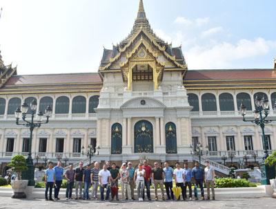 Exploring Bangkok with our SAG members