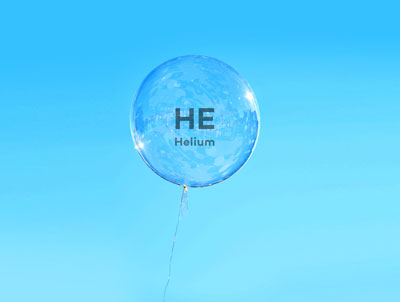 Why do we use Helium in our leak detector?