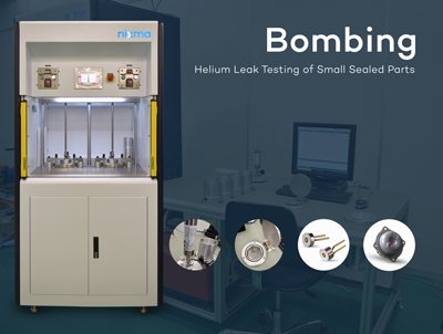 BOMBING LEAK TEST MACHINE