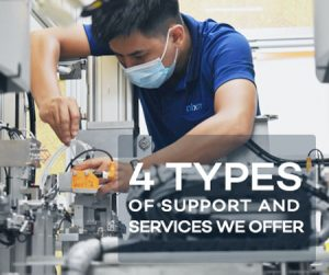 4 types of support and services we offer
