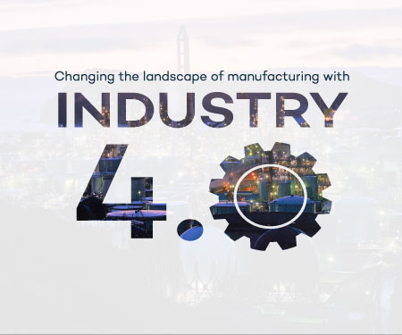Changing the landscape of manufacturing with Industry 4.0